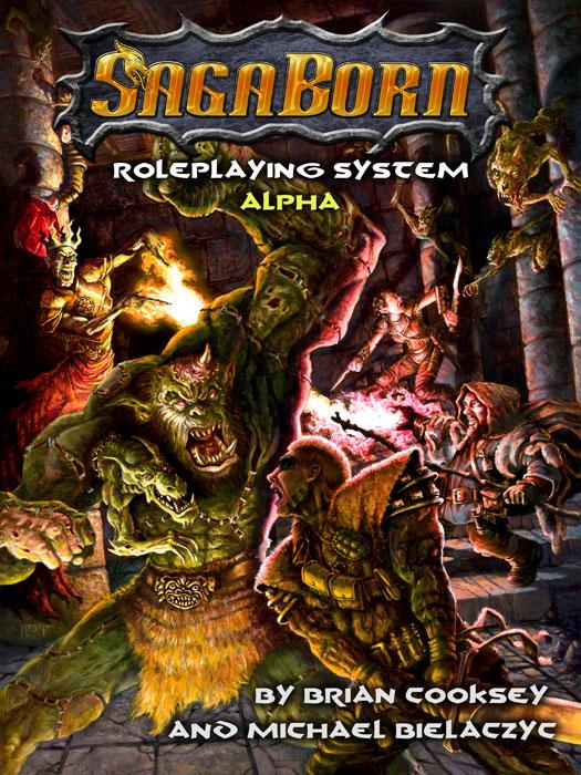 SagaBorn RPG Cover