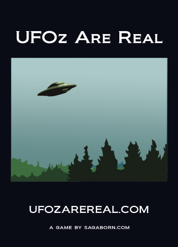 UFOz Are Real Cover