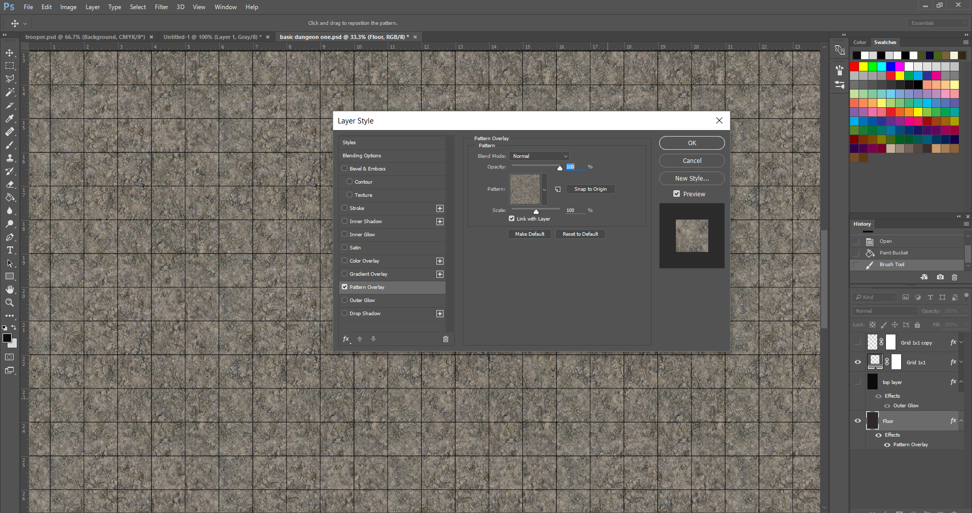 Creating A Dungeon Map In Photoshop Sagaborn